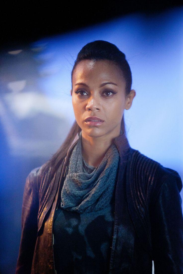 Lt. Uhura from Star Trek (Zoe Saldana)