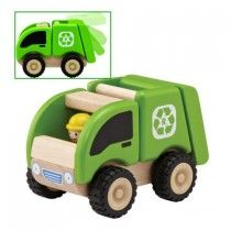 Wonderworld - Wooden Mini Recycling Truck