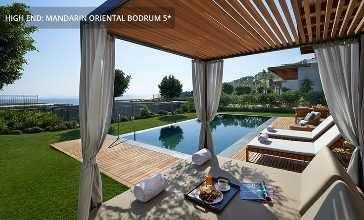 Mediterranean Suite - Terrasse mit eigenem Pool