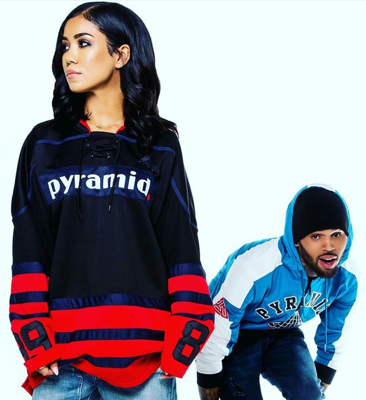 Jhené Aiko for Black Pyramid with Chris Brown photoshoot