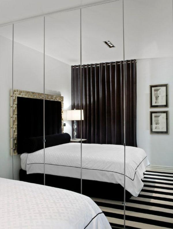 Die besten 25+ kleine weiße Schlafzimmer Ideen auf Pinterest - schlafzimmer schwarz wei