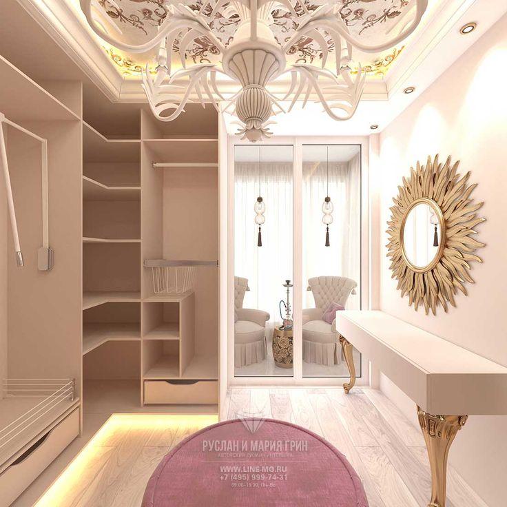 Дизайн гардеробной комнаты http://www.line-mg.ru/dizayn-kvartiry-zhk-dolina-setun