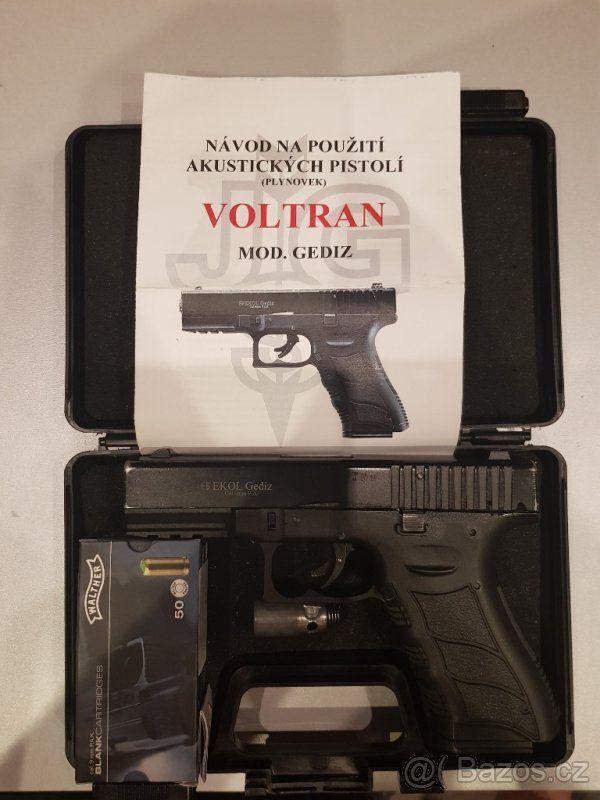 Pin Na Nastence Guns