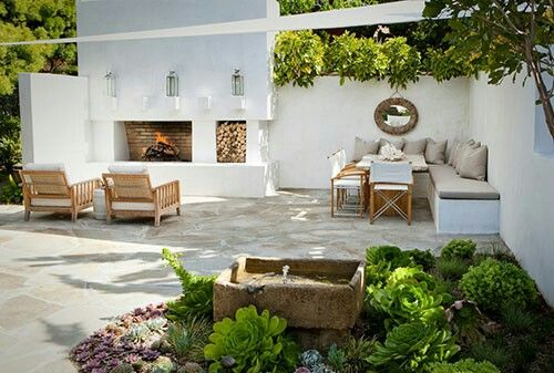 Chic Mediterranean Outdoor Spaces