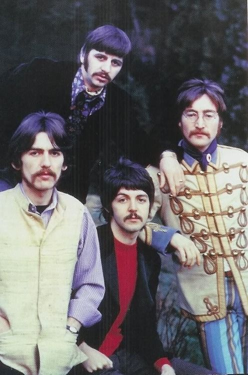 The Beatles so young here...yet.. older than the other pics and here they know they are on their way to big time