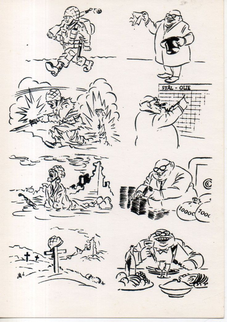 Херлуф Бидструп. На фронте и дома.1964