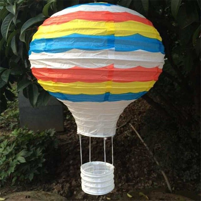 5 pcs. / Lot 30 cm = 12 inch Hanging Lanterns Wedding Rainbow Balloon Paper Lantern Birthday Jewellery buy in the store Yiwu Paper Crafts Decorations Factory on AliExpress