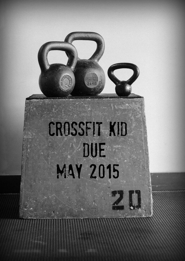 Crossfit baby announcement