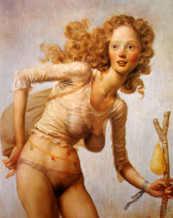 'Paint Made Flesh': Figurative Painter John Currin