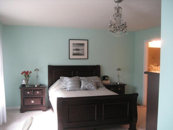 tiffany blue walls...