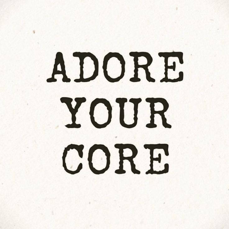 There are so many reasons to #AdoreYourCore and to keep it strong... Strengthening your core helps you feel smarter younger and better all over. Benefits of improving your #corestrength include.... Reducing / Preventing Pain - A strong core stabilizes you