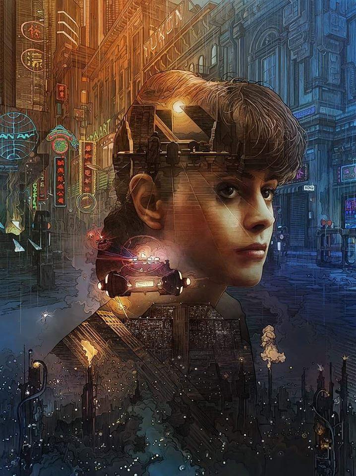 Blade Runner cover art by Krzysztof Domaradzki
