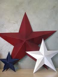 Barn Stars bathroom is being done in patriotic theme. Americana. USA. Red, white and blue.