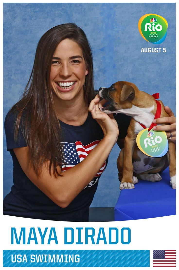 84 Team USA Olympians Posing With Puppies, Any Questions?