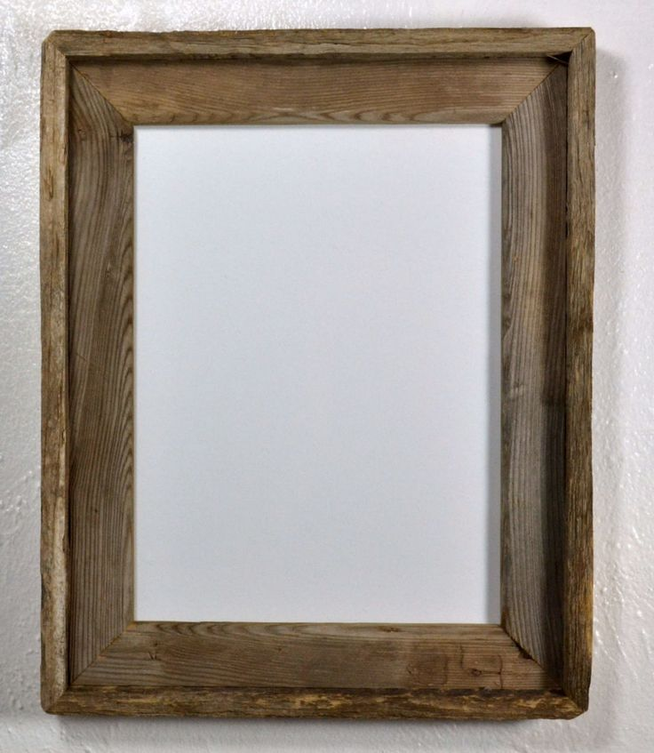 9x12 earth friendly reclaimed wood frame with glass made in the usa - Wood Photo Frames