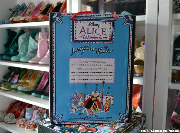 irregular choice disney alice in wonderland ss16 shoe box back | one and a million | Pinterest | Irregular choice Alice and Ss16 & irregular choice disney alice in wonderland ss16 shoe box back ... Aboutintivar.Com