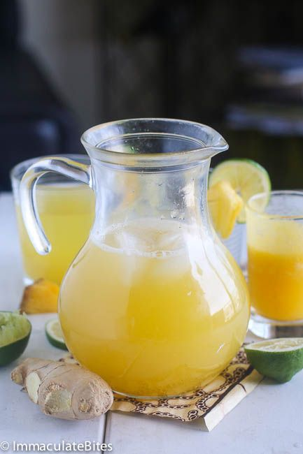Pineapple Ginger Juice (West African)