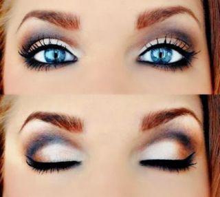 How to Make Blue Eyes Pop   Yellow Elephant Beauty