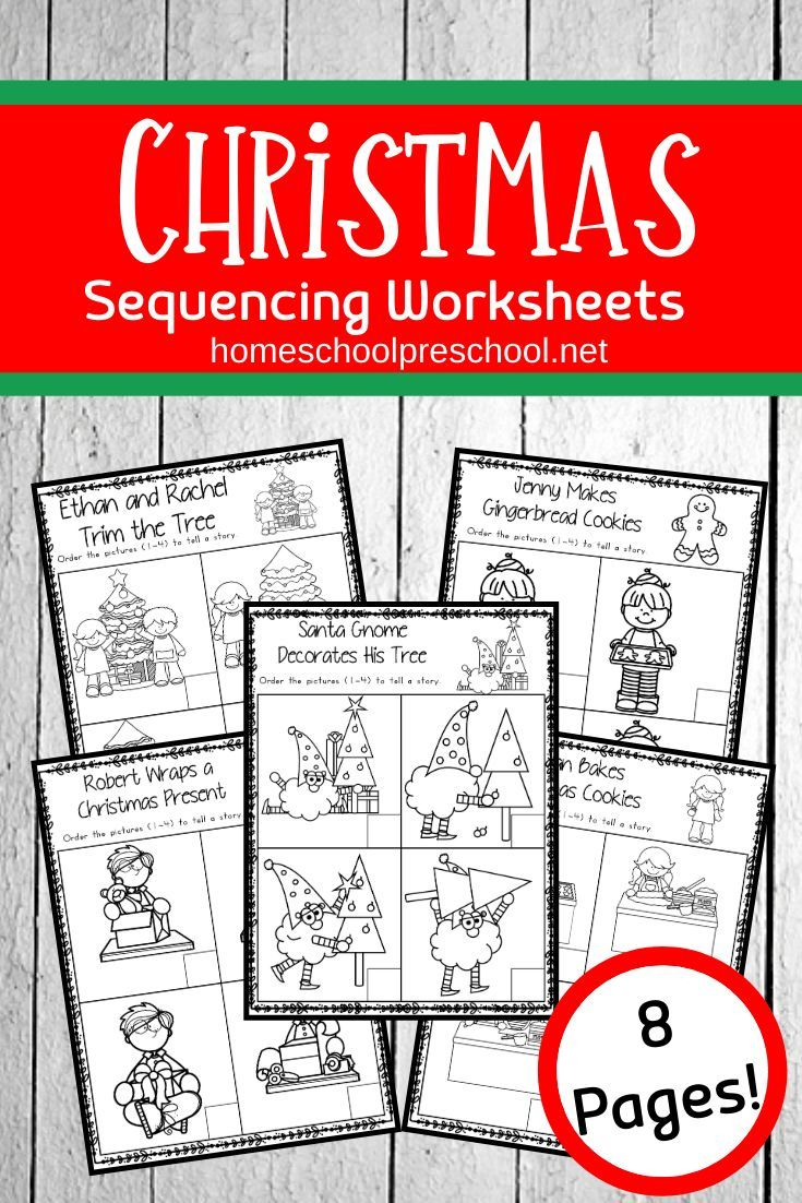 Christmas Sequence Worksheet Pack Sequencing Worksheets Christmas Teaching Sequencing Activities [ 1102 x 735 Pixel ]