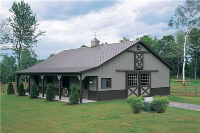 Dream horse barn by Morton