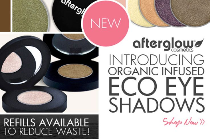 Afterglow Cosmetics bridges the gap between natural and high fashion cosmetics. All products offered by Afterglow Cosmetics are formulated without bismuth oxychloride, talc, parabens, preservatives, artificial fragrances or dyes.