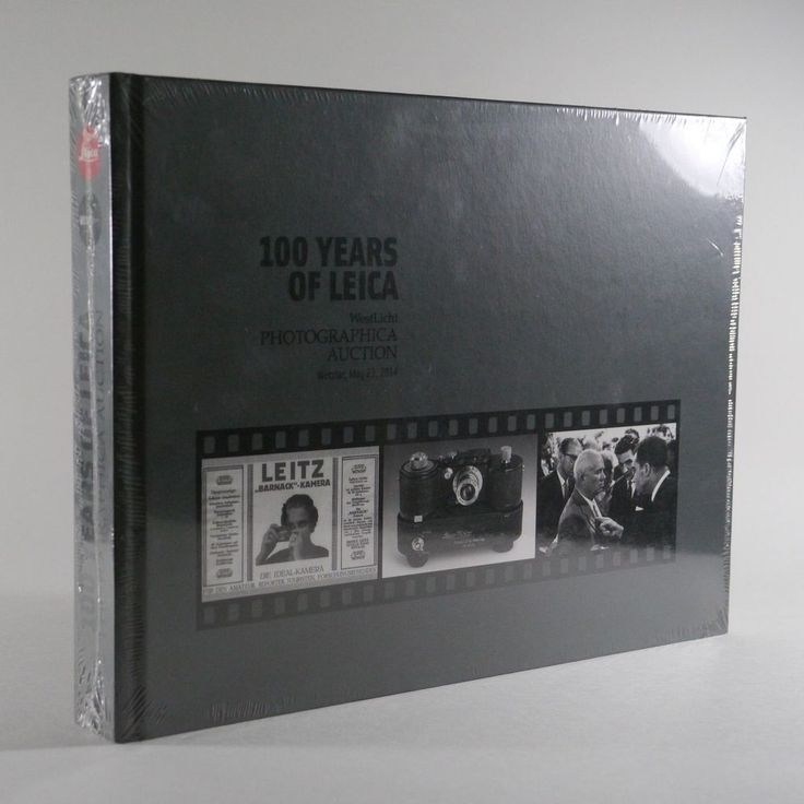'100 Years of Leica' Westlicht Photographica Auction Catalogue[Original Edition]