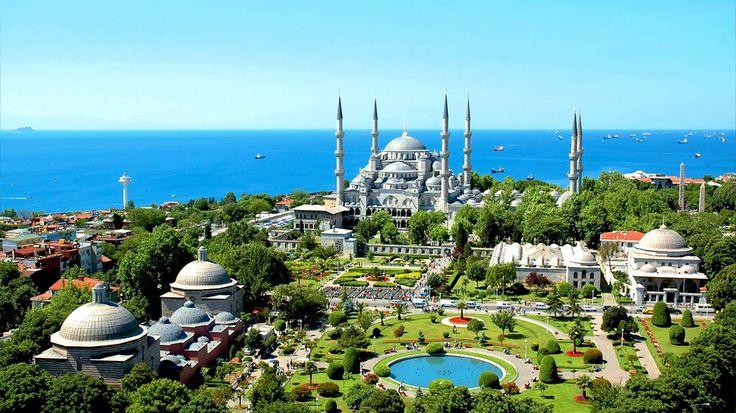 Ciel bleu azur & verdure ! I #Istanbul I