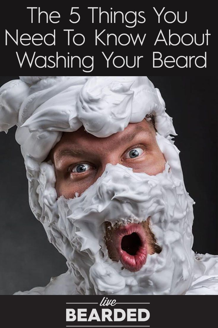 The 5 Things You Need to Know About Washing Your Beard | Beard Care Tips | Bearded Men |