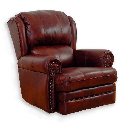 Best Deal Catnapper Deluxe Buckingham Brown Leather Rocker