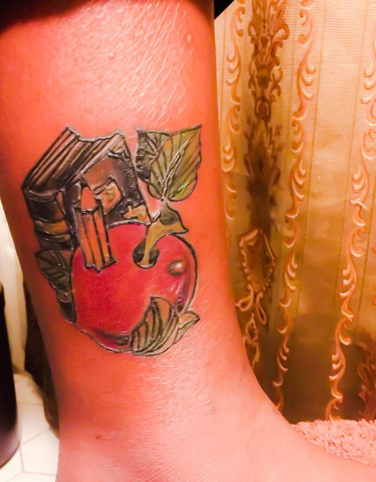 Teacher tattoo! Thanks Angel!