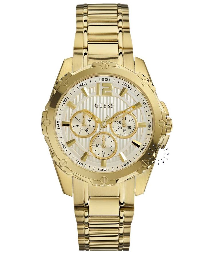 GUESS Gold Stainless Steel Bracelet Η τιμή μας: 186€ http://www.oroloi.gr/product_info.php?products_id=34746