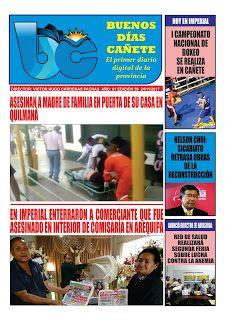 buenosdiascanete.blogspot.com: DIARIO DIGITAL BUENOS DIAS CAÑETE, EDICIÓN 24 NOVI...