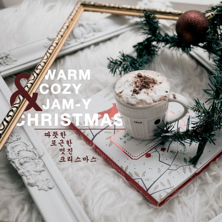 Warm cozy jam-y christmas (of korean songs)!  Anyone else excited about this approaching Christmas? You might want to cuddle with a warm blanket, your favorite warm drink, and listen to some Christmas tunes.
