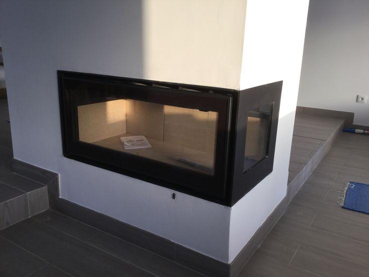 Recuperador de calor ADF com 1 vidro lateral