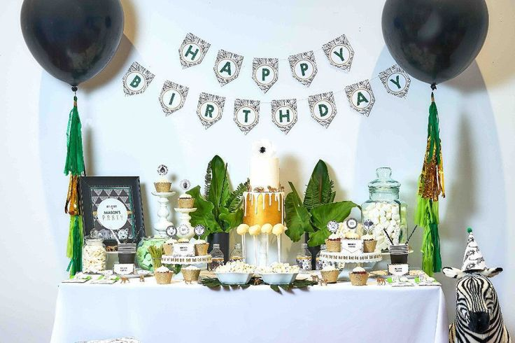 The Bee Box Parties Jungle Safari Collection. Go on a wild adventure with party decorations, printables, invitations, partyware and party favours. Shop the collection at https://beeboxparties.com.au/products/jungle-safari