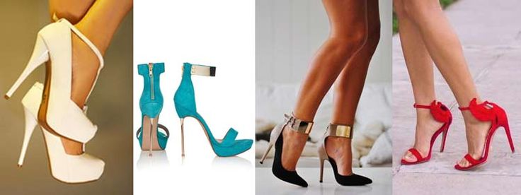 25 Types of Heels: The Ultimate Guide – Clickless® ~ Heel Protectors