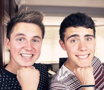 Marcus Butler and Alfie Deyes.. Literally cannot handle how adorable they are.
