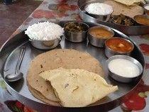 Le e Lu on the eat: - thali
