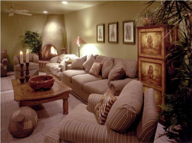 Ethnic Living Room Decorating Ideas