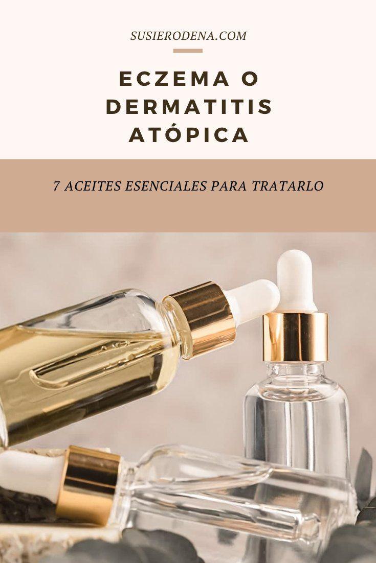Eczema O Dermatitis Atópica 7 Aceites Esenciales Para Tratarla Aceites Para La Piel Aceites Esenciales Mezclas De Aceites Esenciales