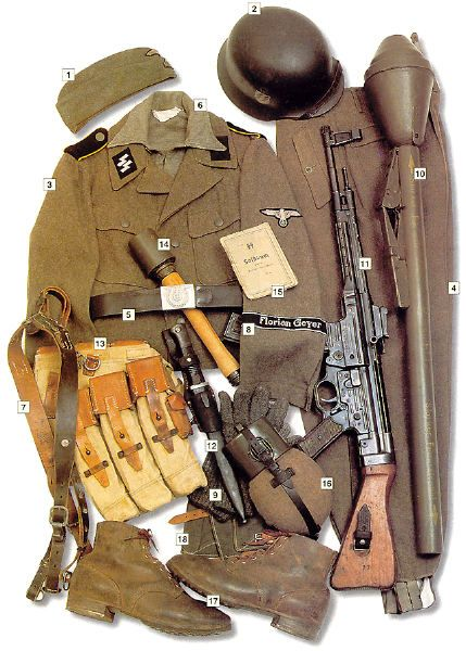 SS-Reiter (Private), 8. SS-Kavallerie Division Florian Geyer, summer 1944