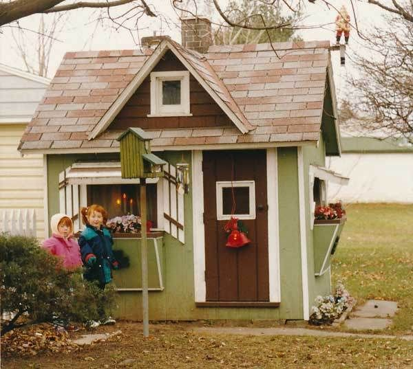 99 best images about children 39 s playhouse plans on for Backyard clubhouse plans