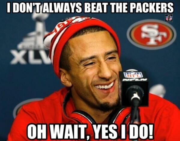 packers 49ers meme - photo #37