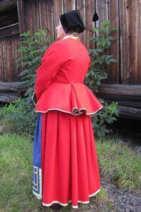 Dress from Toarp, Västergötland.