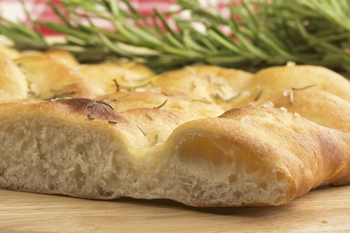 Dr. Davis' Herbed Focaccia: Giving up gluten is worth it for this focaccia bread recipe.