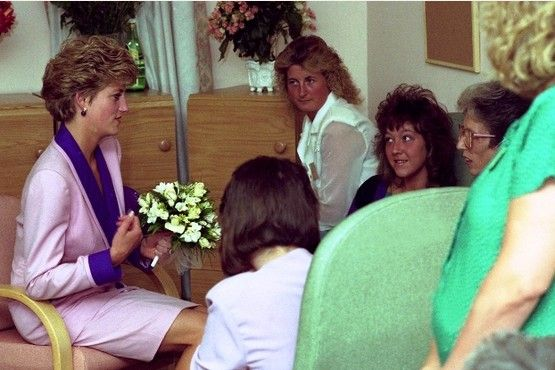 Princess Diana at Dove House Hospice Hull: Flashback pictures