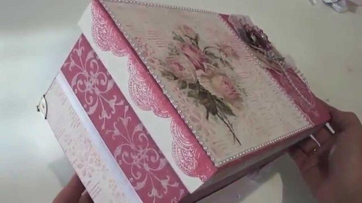 Video-Aula: Livia Fiorelli-Caixa com papel Textura