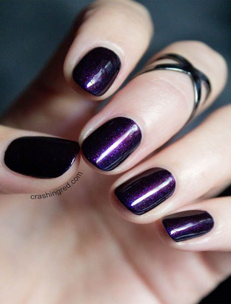 Tips for wearing dark nail polish in summer is the best article as these days…
