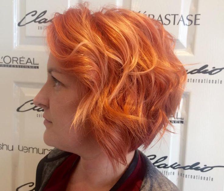 Hair & color by Claudio Coiffure - Couleur par Sabrina et coupe mise en plis par Mélanie