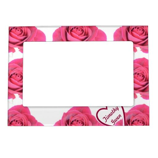 RomanceMe Red Roses Magnetic Frame